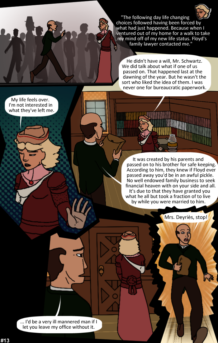 Smoke, Steam and Mirrors: Page 13