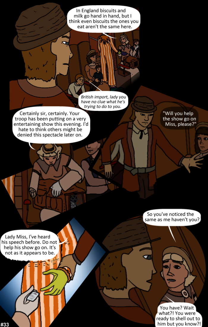 Smoke, Steam and Mirrors: Page 33