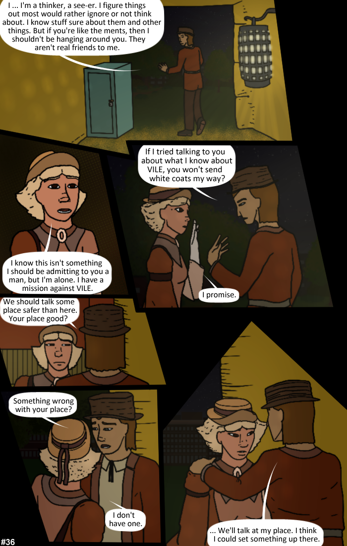 Smoke, Steam and Mirrors: Page 36
