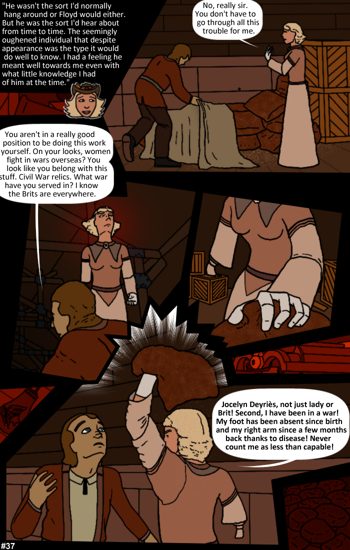 Smoke, Steam and Mirrors: Page 37