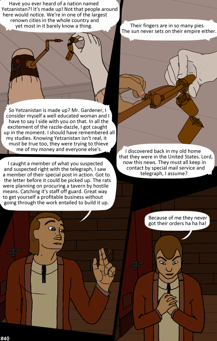 Smoke, Steam and Mirrors: Page 40