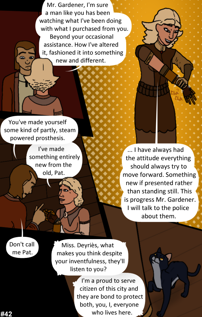 Smoke, Steam and Mirrors: Page 42